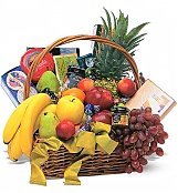 Fruit Gift Baskets: Classic Fruit & Gourmet Basket