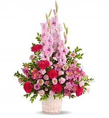 Funeral Flowers: Heavenly Heights Bouquet