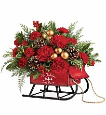 Flower Bouquets: Vintage Sleigh Bouquet