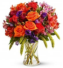Flower Bouquets: Autumn Gemstones
