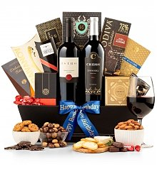 Wine Baskets: The Luxury Birthday Gift Basket