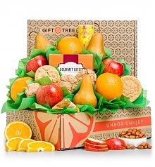 Fruit Baskets: Premium Grade Fruit and Classic Cookies